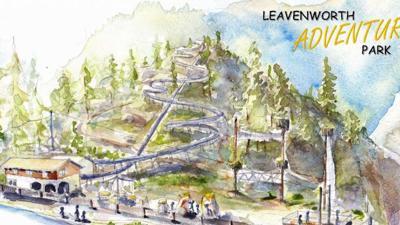Leavenworth Adventure Park Artist's Rendition