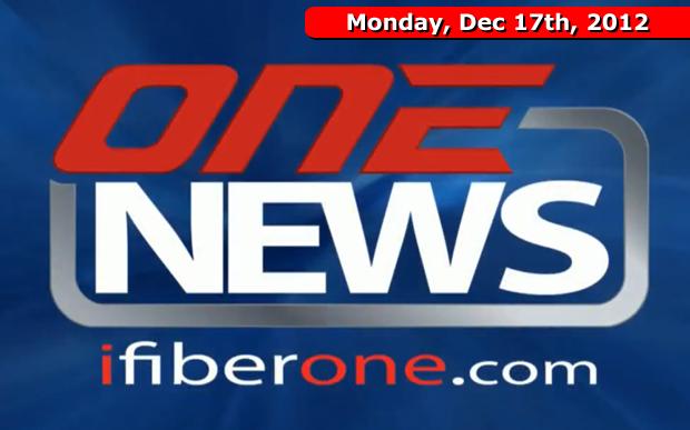 iFIBER ONE News (12/17/12)