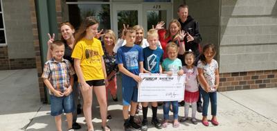 Boys and Girls Club donation