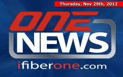 iFIBER ONE News (11/29/12)