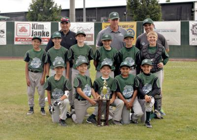 The 2014 Little League Legends Youth Baseball Champions