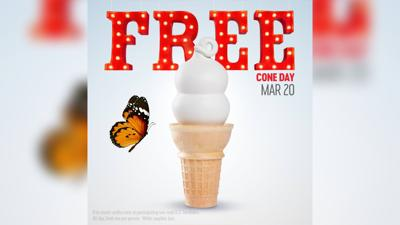 Celebrate the first day of spring with a free ice cream cone from Dairy Queen