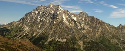 Mount Stuart, photographed in July 2008.