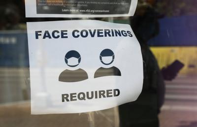 mask warning