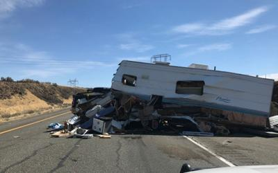 Smoke over I-90 west of Vantage leads to fatal wreck Thursday
