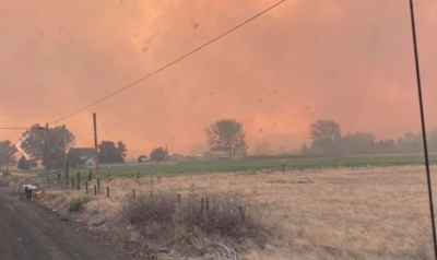 Evans Canyon Fire