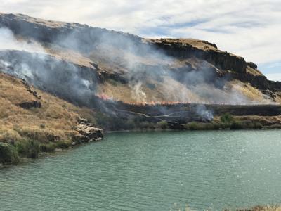 Upper Goose Lake fire