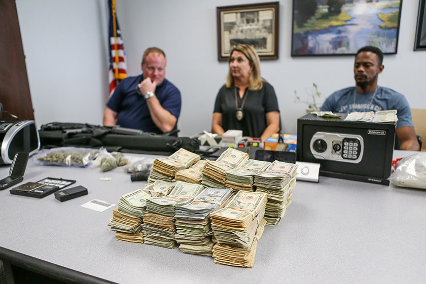 LPD Cash, Drug Bust