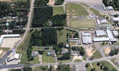 Oak Grove middle school turn lane