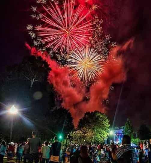 Star-Spangled Celebration on the River