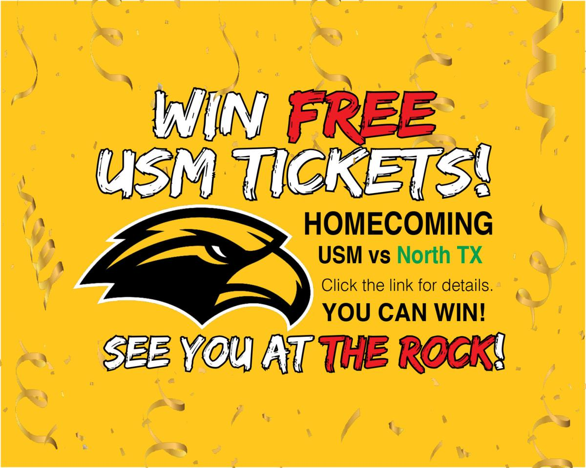 Win FREE TICKETS to USM Homecoming
