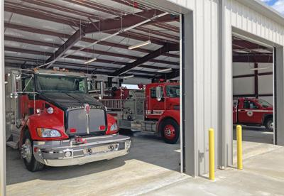 Stringer VFD steadily moving into new home