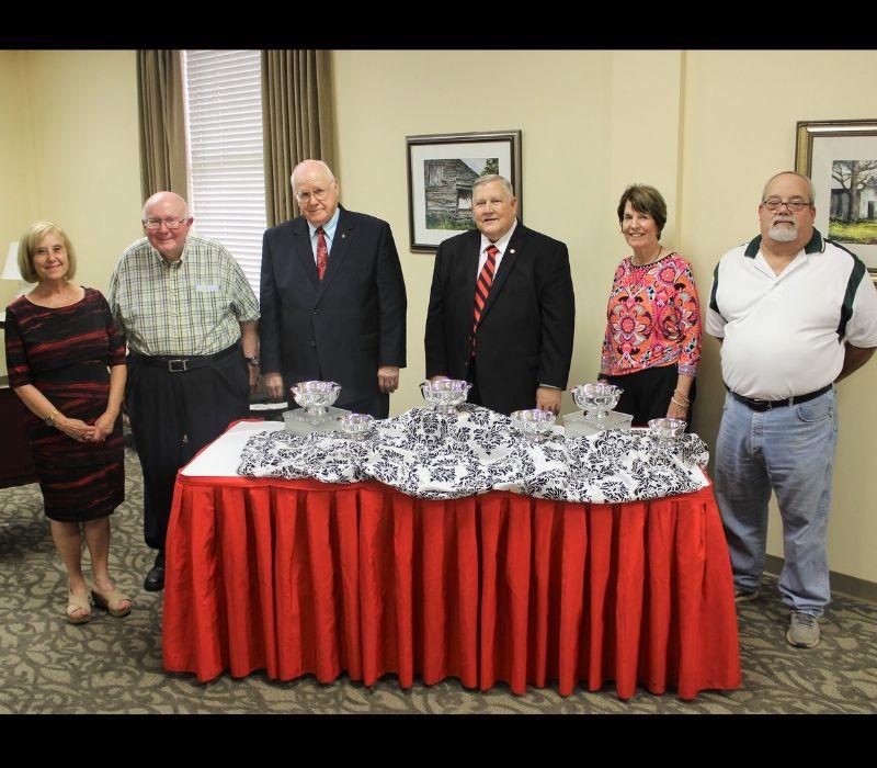 WCU honors retirees