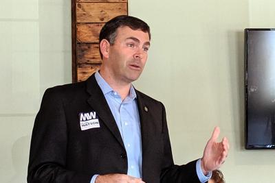 Michael Watson speaks to Jones County Republican Women