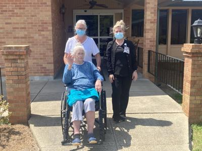 Surviving COVID: Jasper General Nursing Home residents finally able to get out
