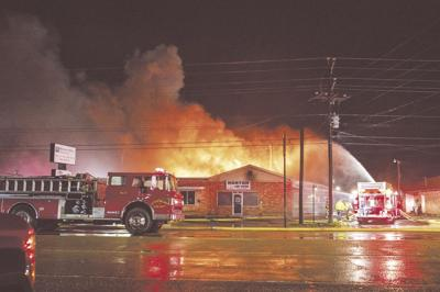 Fire on Mulberry Avenue