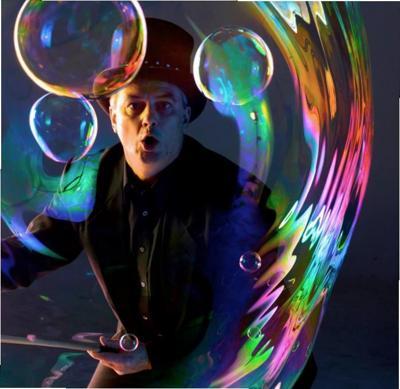 Steve Langley Soap Bubble Circus