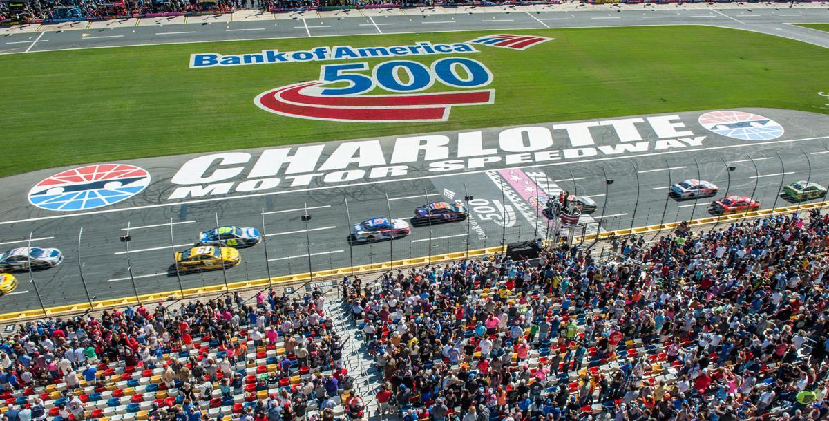 Daylight racing time returns to charlotte motor speedway for Charlotte motor speedway hotel packages