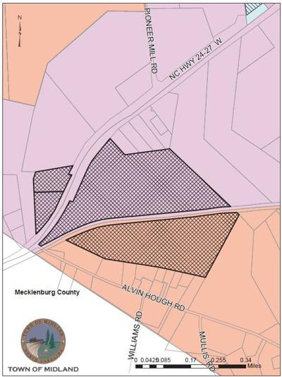 Midland extends to Mecklenburg County line