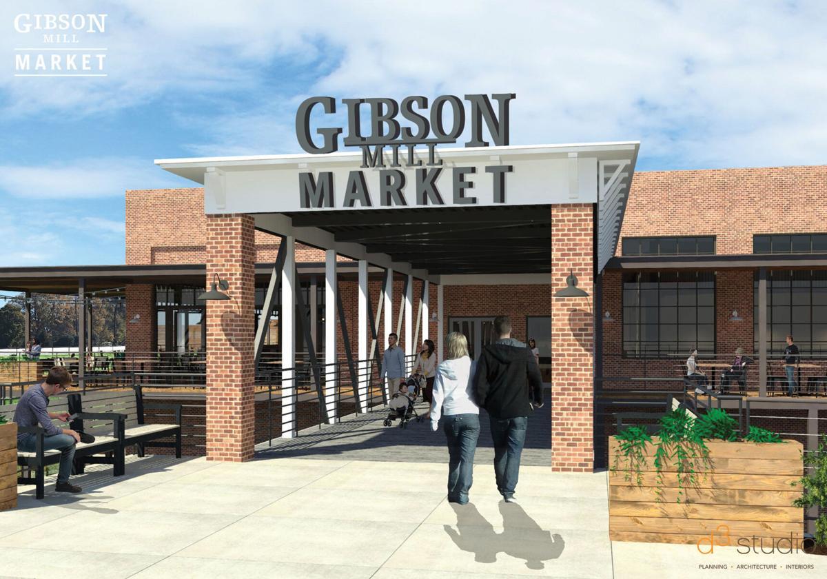 Gibson Mill Market Rendering