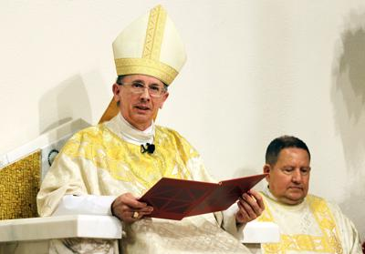 Bishop Jugis at Mass Dec. 29