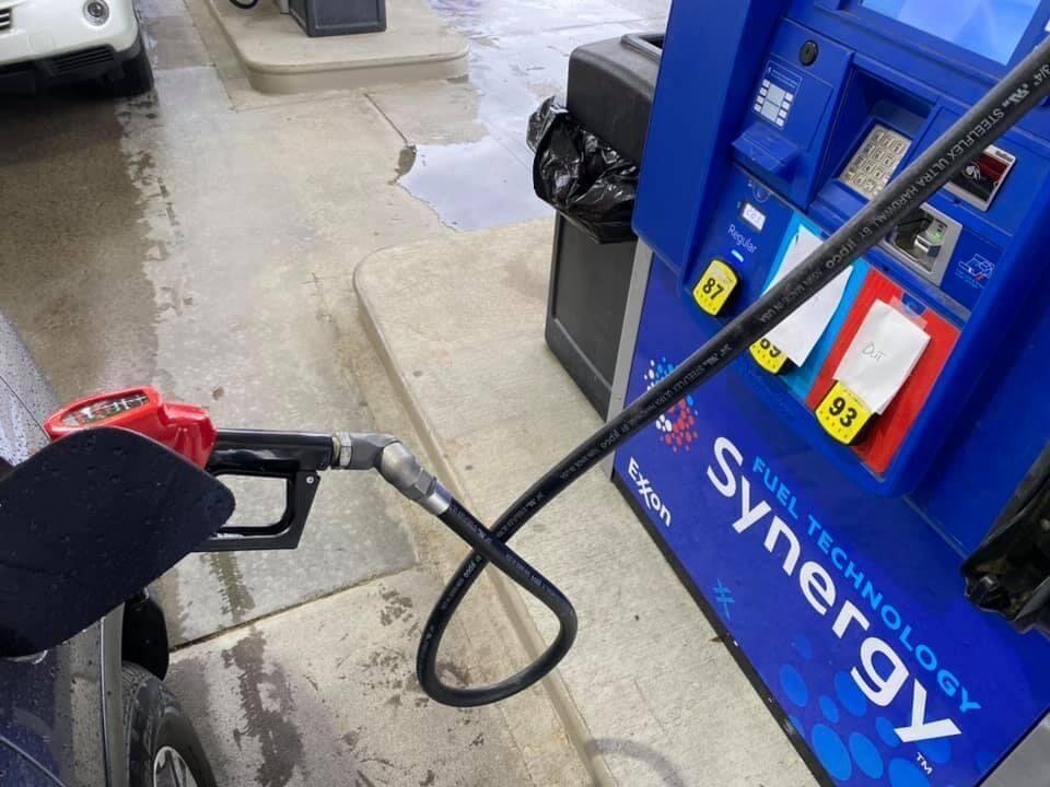 Gas shortage