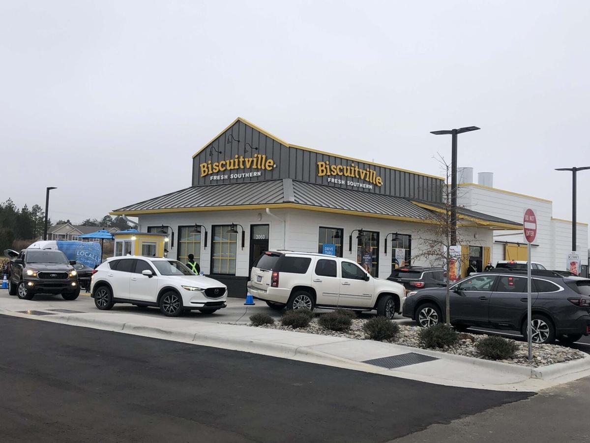 Biscuitville opens