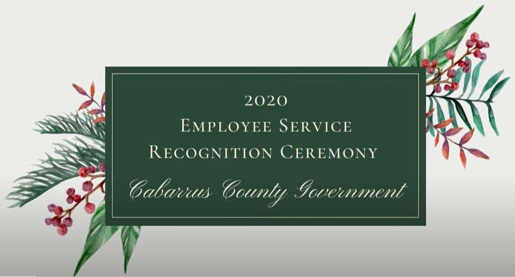 Cabarrus County Employee Recognition