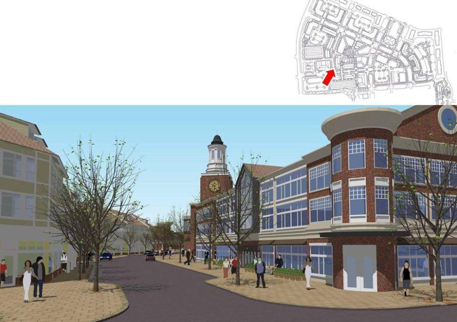 Harrisburg Town Center development proposal