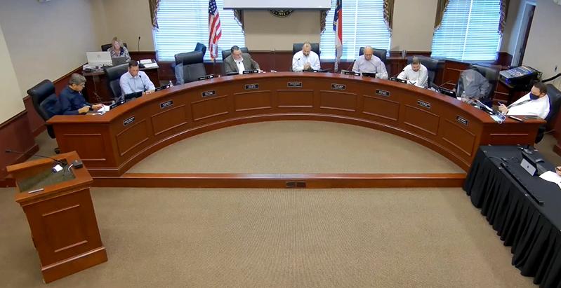 Harrisburg Town Council Meeting
