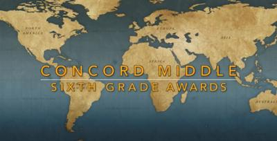 Concord Middle School Awards