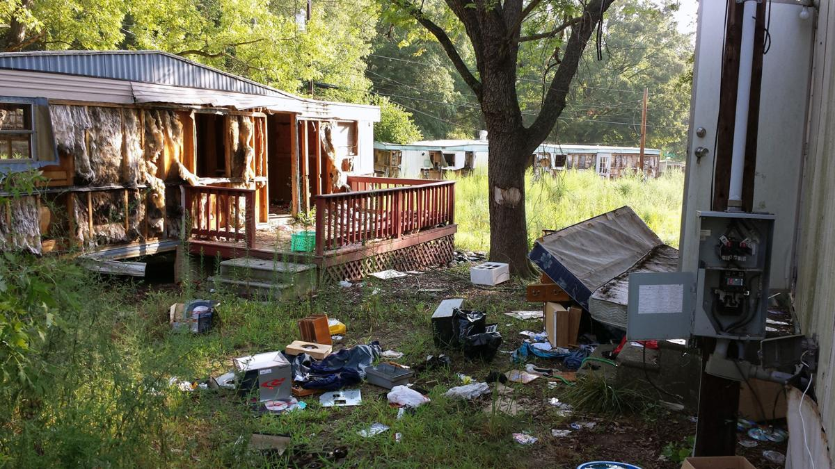 kannapolis cleans up dilapidated mobile home park news