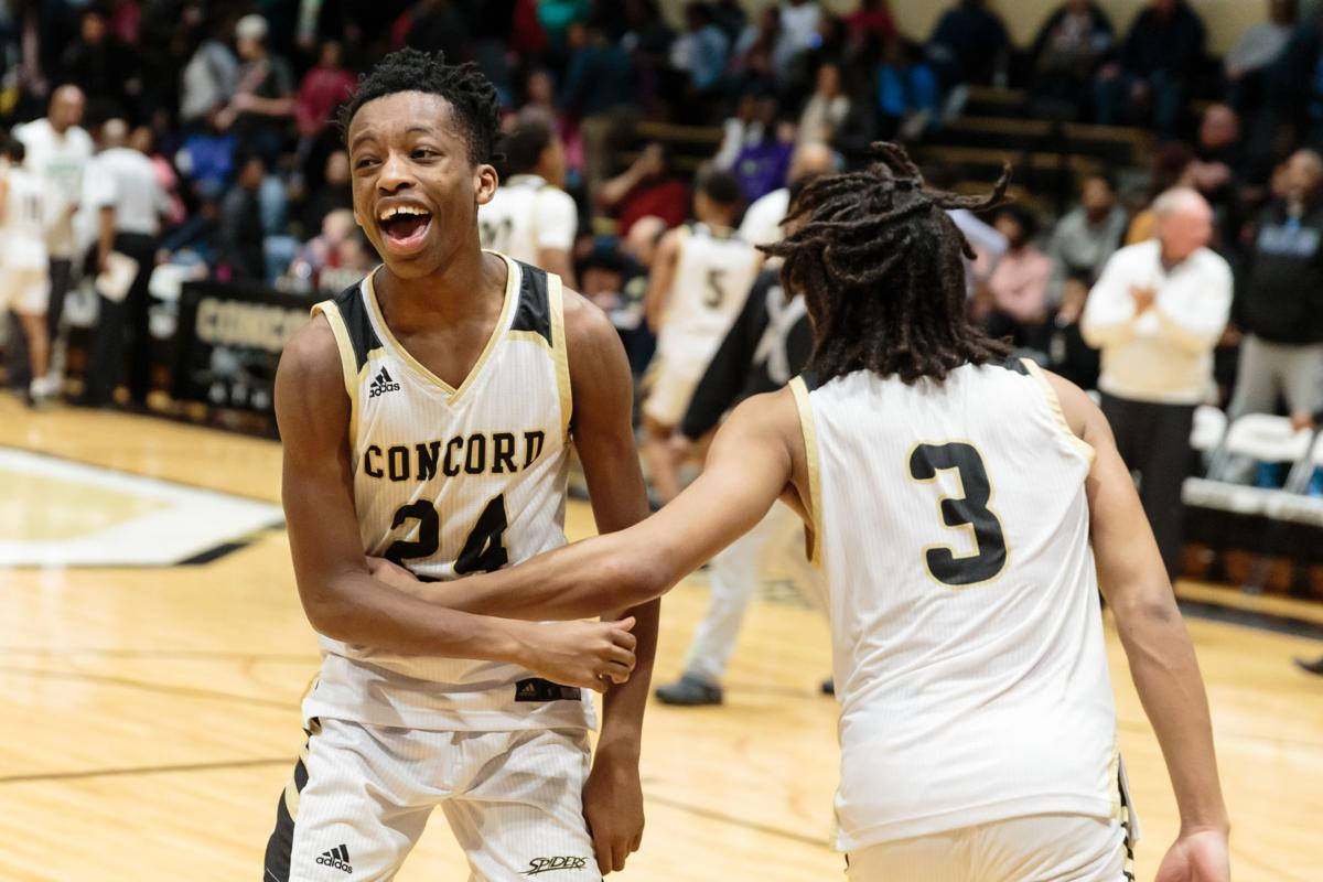 The Concord Spiders host the A.L. Brown Wonders in a South Piedmont Class 3A matchup.