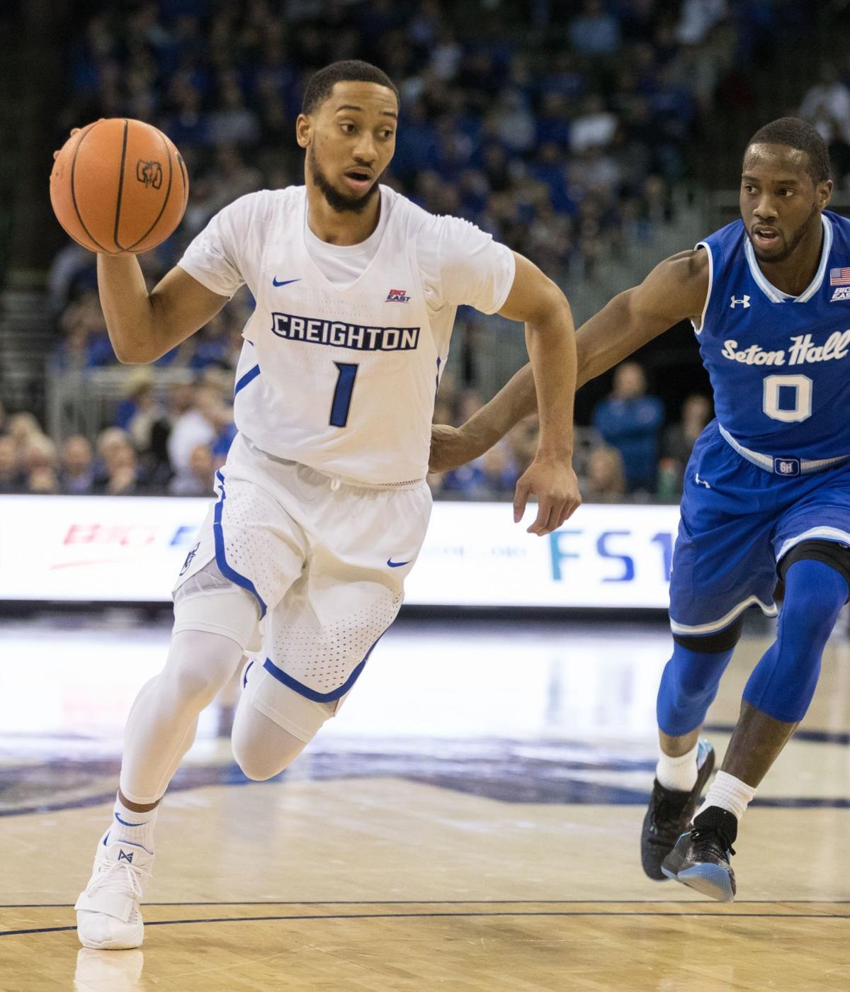 NCAA tournament destination a homecoming for Creighton's Davion Mintz, Ty-Shon Alexander