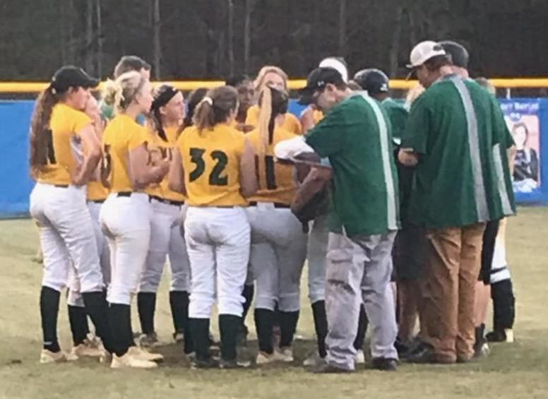 Central Cabarrus softball