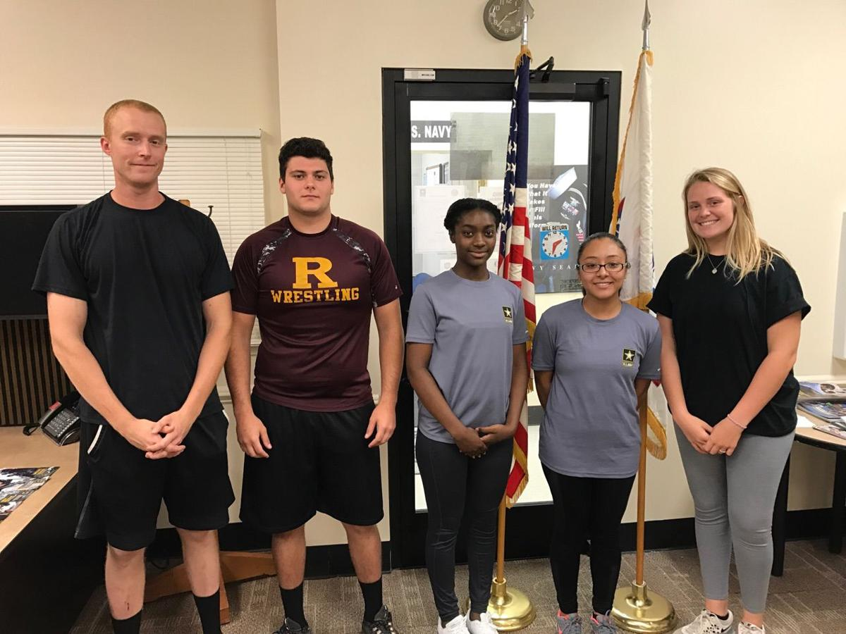Army Strong' Five from Cabarrus head to basic training
