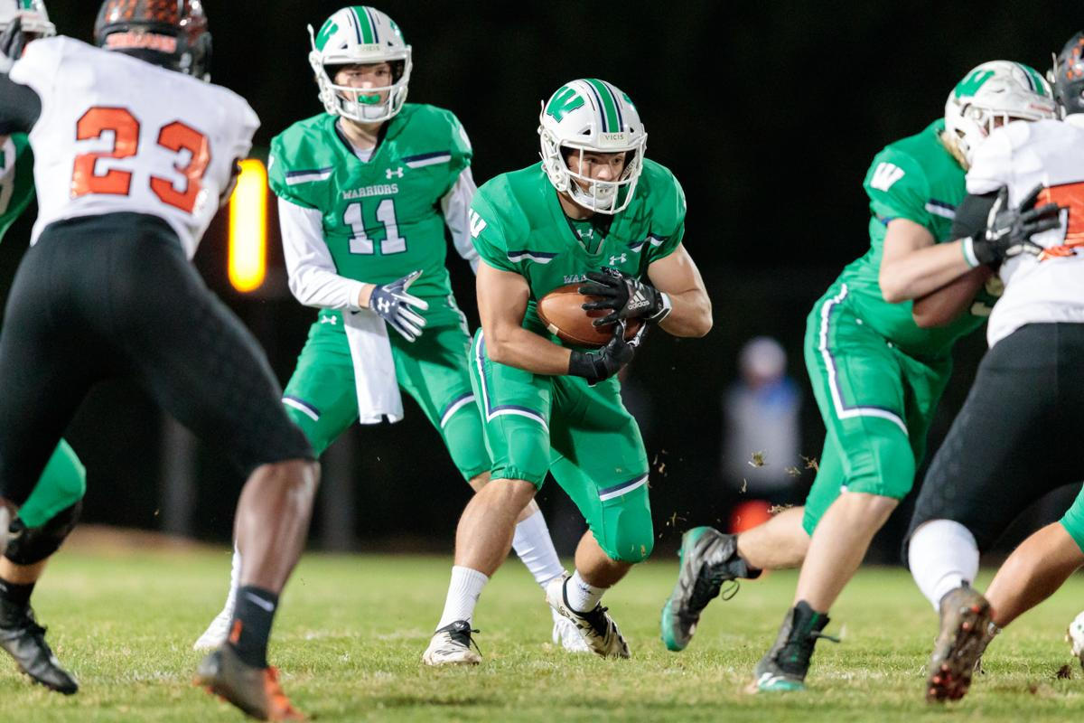 The Northwest Cabarrus Trojans fall to the Weddington Warriors in the third round of the 3AA State playoffs.