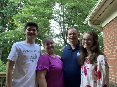 Chris Batcheolor and family