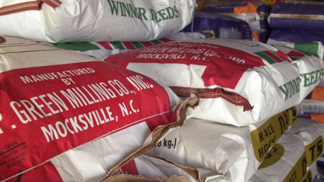 Historic Mocksville feed mill