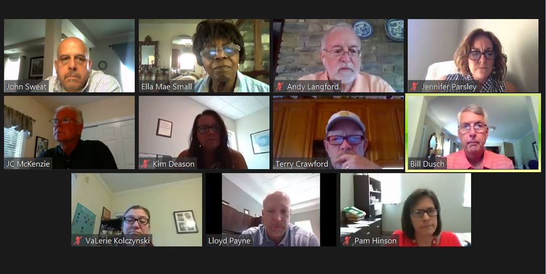 Concord special virtual meeting