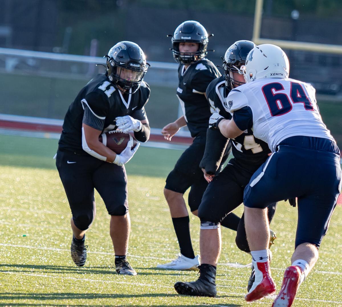 Monday night high school football action