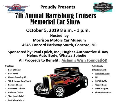 Aislinn's Wish Foundation Car Show