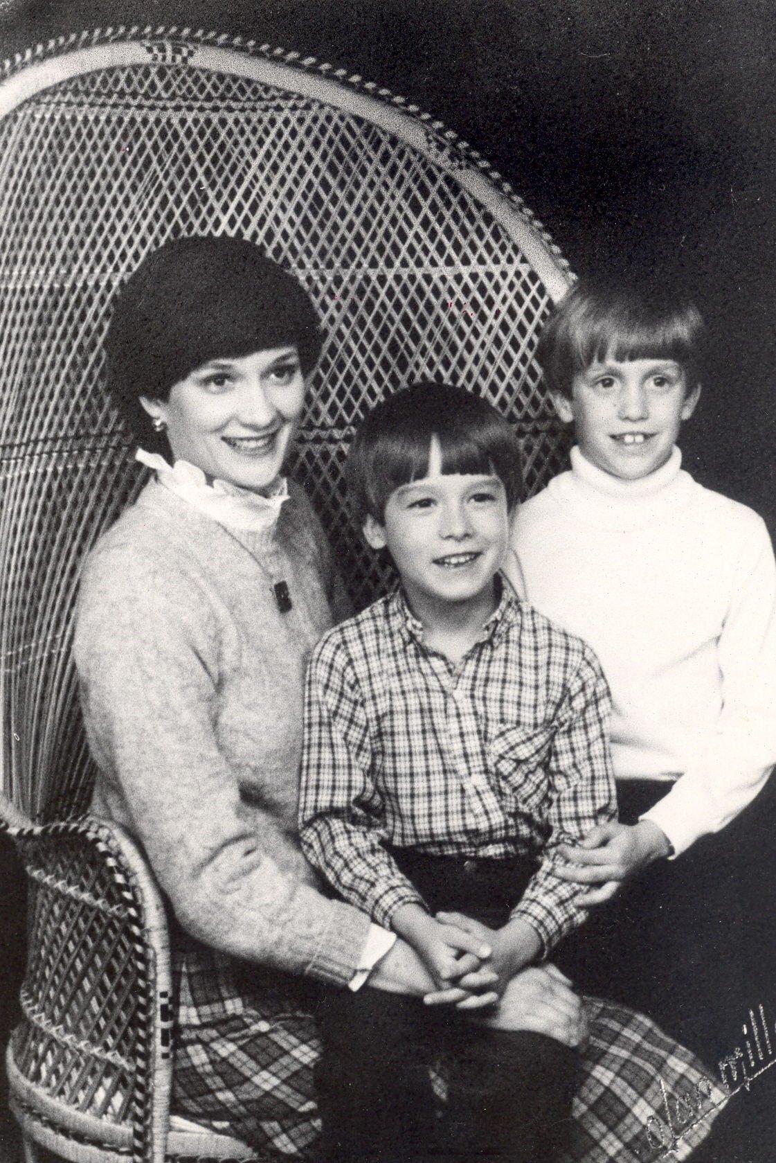 Susie Lynch with her children