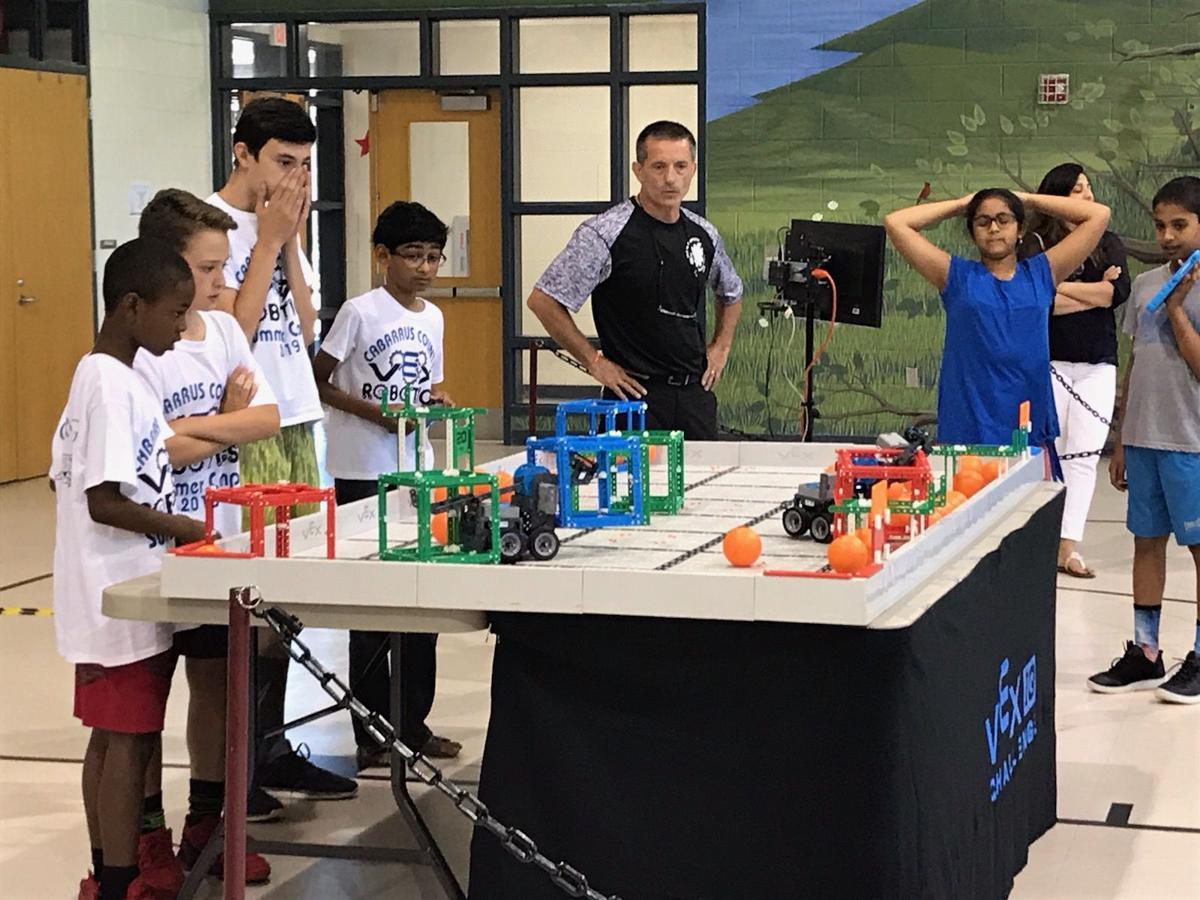 VEX Robotics Camp