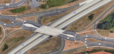 I-85 South at N.C 73