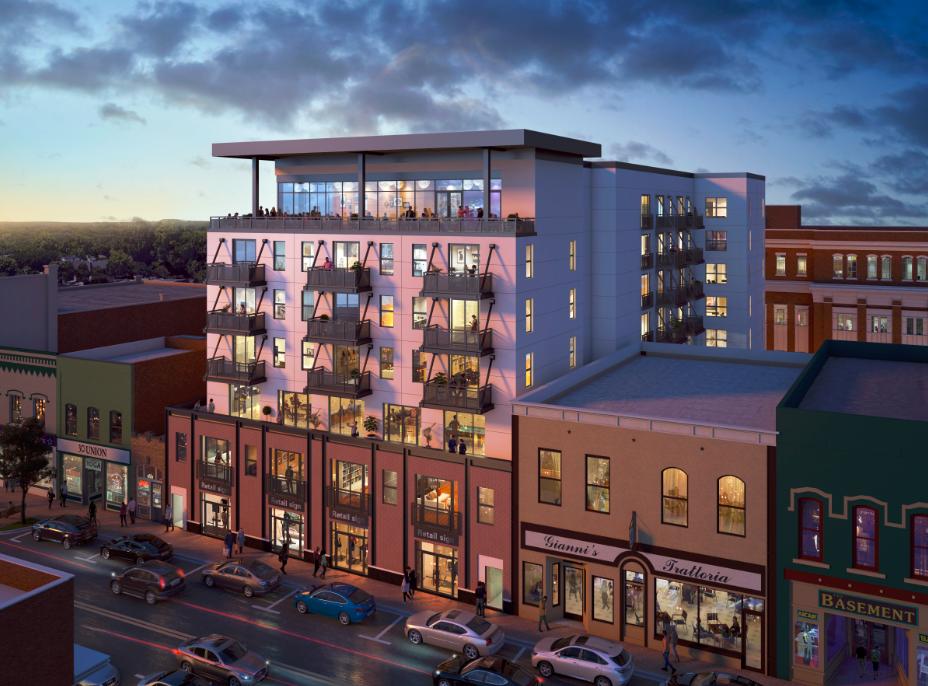 Union Street LGM Development.