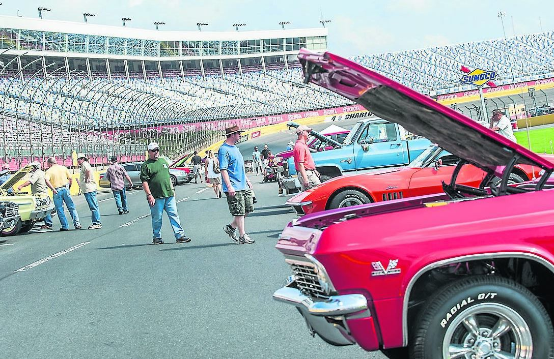 Autofair open thursday drifting movie cars 100 years of for Auto fair at charlotte motor speedway