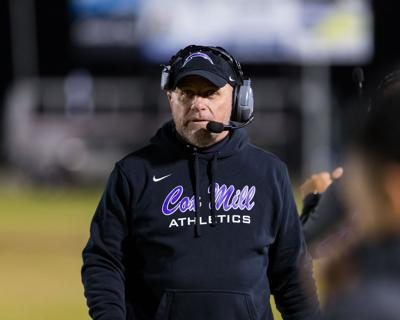 The Cox Mill Chargers fall short to the Sun Valley Spartans in the first round of the state 3AA playoffs.