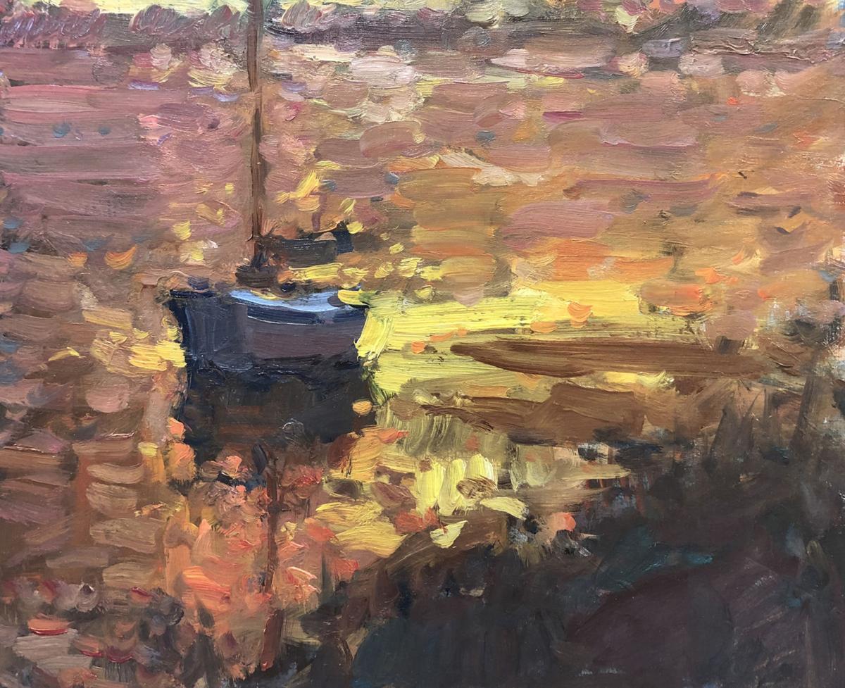 Golden Light Harbor