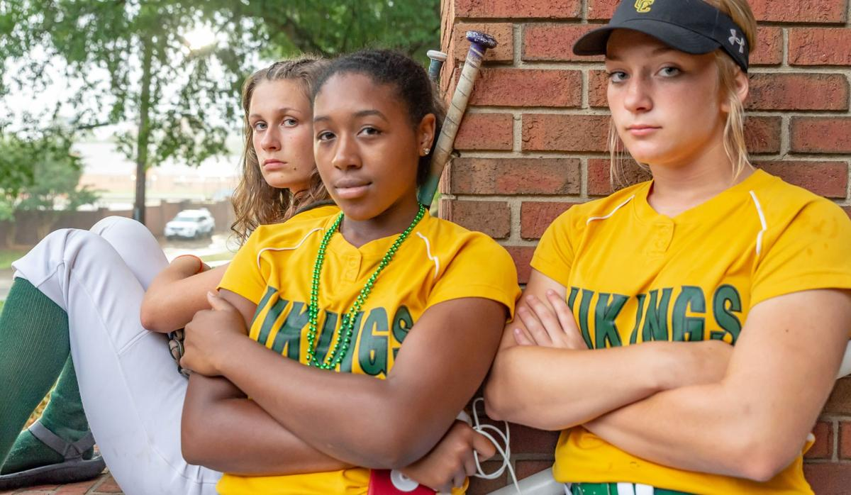 During The rain delay at UNC Greensboro University,Greensboro,North Carolina, The Central Cabarrus varsity softball team is at their neutral playoff game vs. Eastern Alamance. The game was canceled due to weather. They will play on Saturday June 1st at 11 am. Its all about business when the lady Vikings take the field.